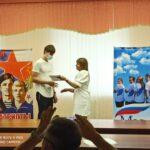 Команда обучающихся 10-х классов ГБОУ лицей г. Сызрани заняла 3 место в городской военно-спортивной игре «Патриоты России»