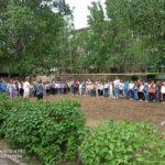В ГБОУ лицей г. Сызрани пошла плановая объектовая тренировка по сигналу «Возгорание».