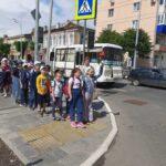 В оздоровительном лагере с дневным пребыванием детей при ГБОУ лицей г. Сызрани проводятся мероприятия по правилам дорожного движения