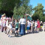 Для обучающихся ГБОУ лицей г.Сызрани провели Троицкие гуляния