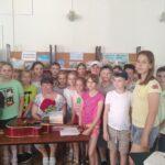 Обучающиеся лицея посетили детскую библиотеку им. А. П. Гайдара