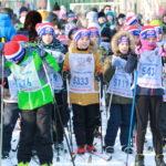 Ученики 2Б класса ГБОУ лицей приняли участие в открытой Всероссийской массовой лыжной гонке «Лыжня России».