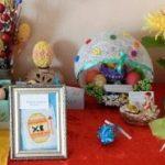 В лицее работала традиционная выставка Пасхальных композиций