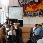 В ГБОУ лицей г. Сызрани приняли участие в видеоконференции «Будущее профессий. Профессии будущего».