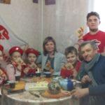 Встреча юнармейцев 4 класса ГБОУ лицей г. Сызрани с ветераном ВОВ